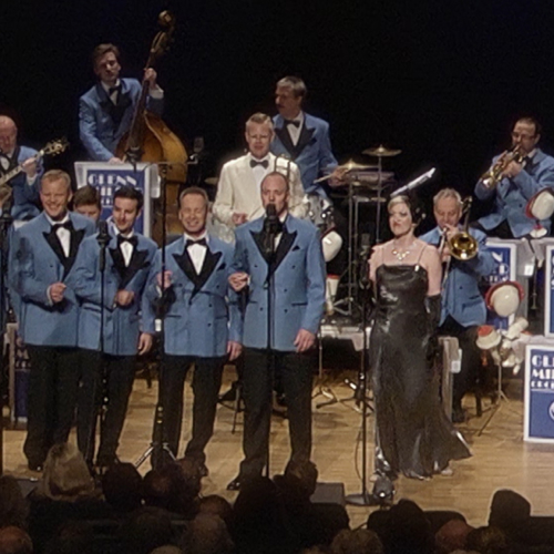 GLENN MILLER ORCHESTRA- a tribute to the music